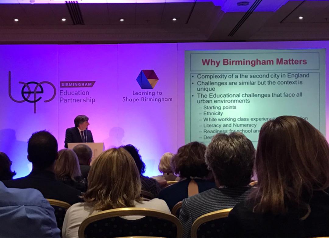 Learning to Shape Birmingham Birmingham Education Partnership